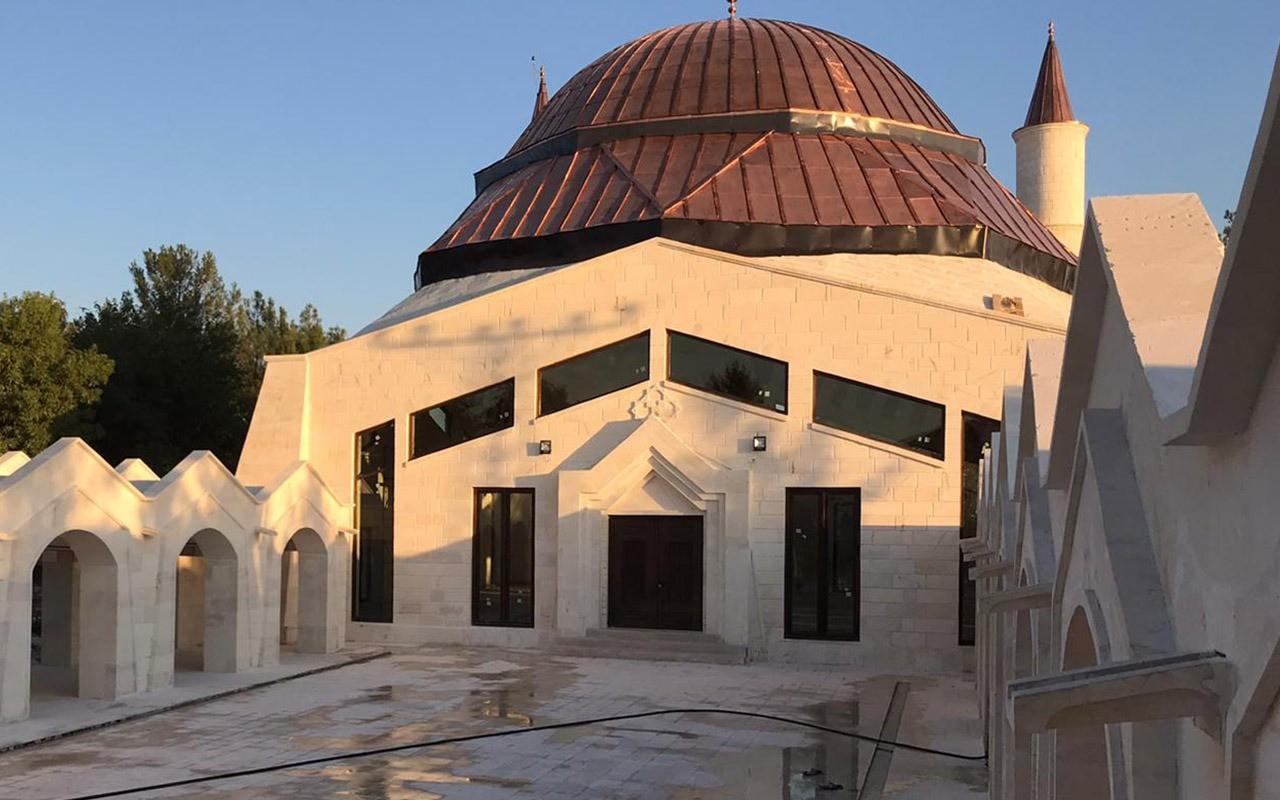 Eyyüp Nebi Camiisi tamamlanıyor Urfa Haber