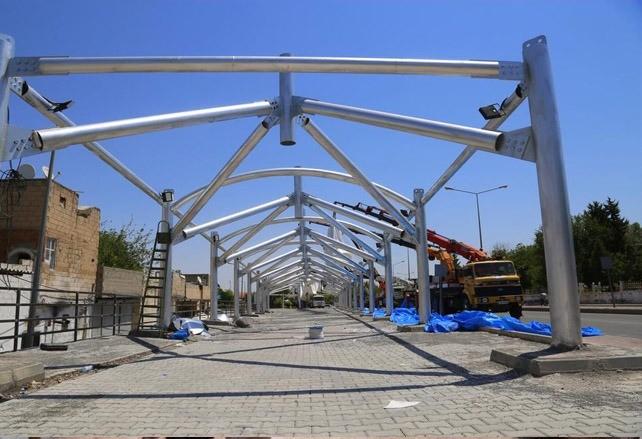 Eyyübiye kapalı semt pazarına kavuşuyor Urfa Haber