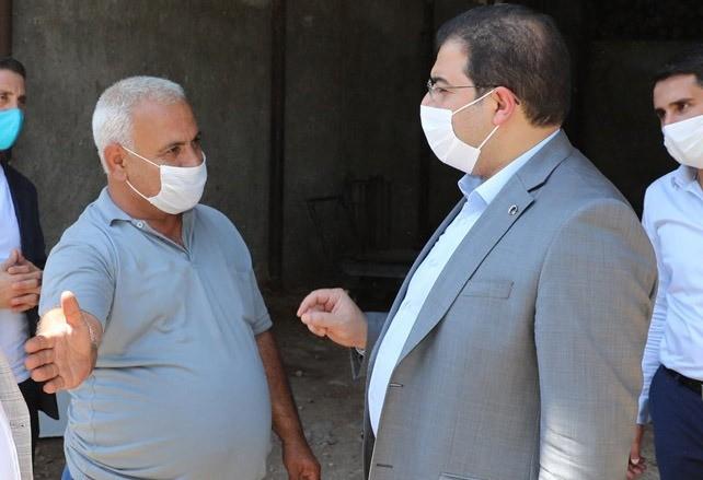 Canpolat, Esnaf ziyaretlerine devam ediyor Urfa Haber