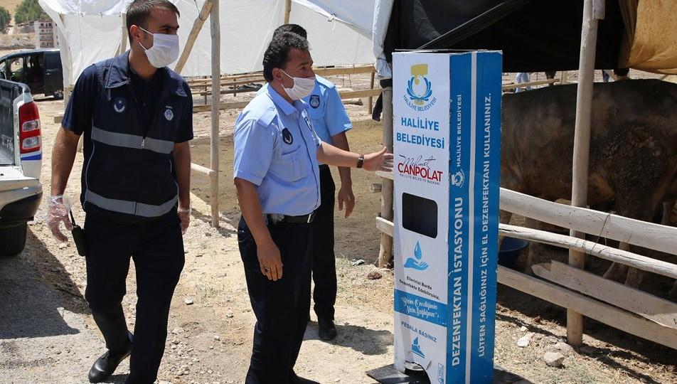Haliliye Belediyesi Bayram denetimlerini sıkı tutuyor Urfa Haber