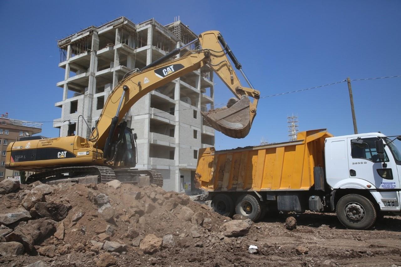 Karaköprü Doğukent yol çalışmaları devam ediyor Urfa Haber