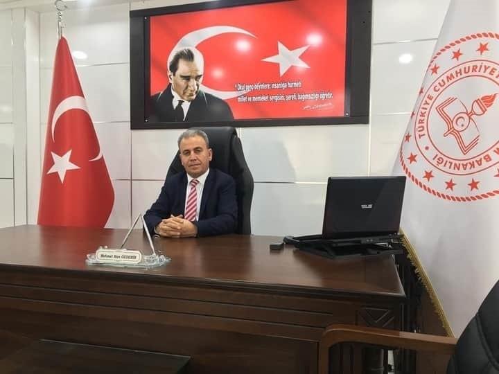 Suruç İlçe Milli Eğitim Müdürü Mehmet Han Özdemir'den Yeni Yıl Mesajı Urfa Haber