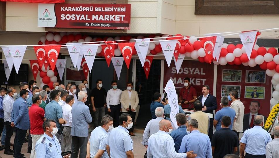 Sosyal market, Paranın geçmediği market! Urfa Haber