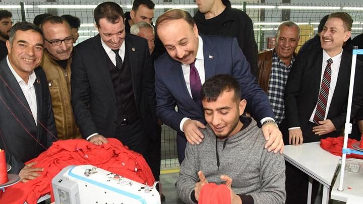 Akçakale, Birecik ve Viranşehir'e 21,4 Milyon TL destekleme Urfa Haber