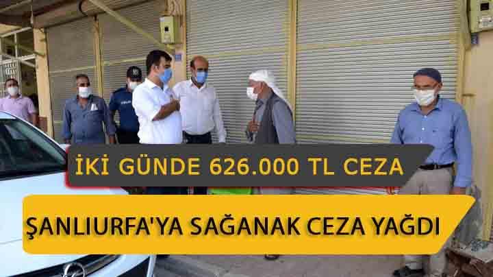 Şanlıurfa'ya sağanak halinde ceza yağdı Urfa Haber