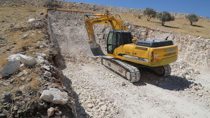 Devteyşti mahallesine yeni yollar açılıyor Urfa Haber