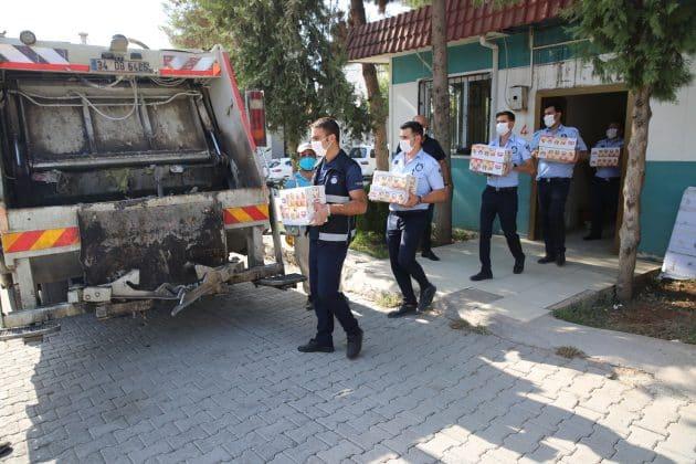 Zabıta denetim yaptı, Çöp kamyonu doldu Urfa Haber