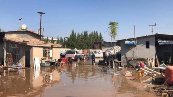 Suruç yine sular altında Urfa Haber