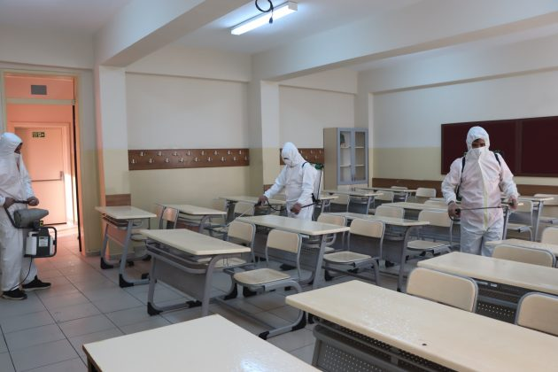 büyükşehir belediyesi- okul defenfekte