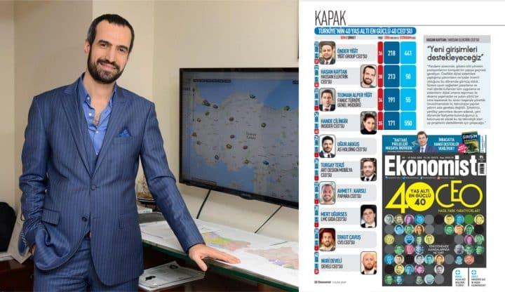 Urfalı iş adamı Ekonomist'in listesinde Urfa Haber