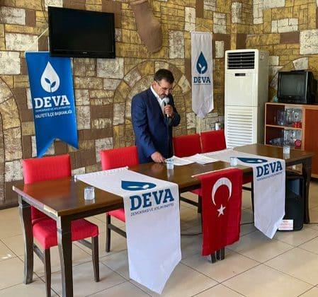 DEVA Partisi, Halfeti 1. Olağan İlçe Kongresi yaptı.  Urfa Gündemi