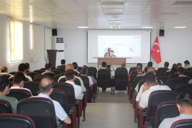 Suruç'ta okul müdürlerine EBA eğitimi Urfa Haber