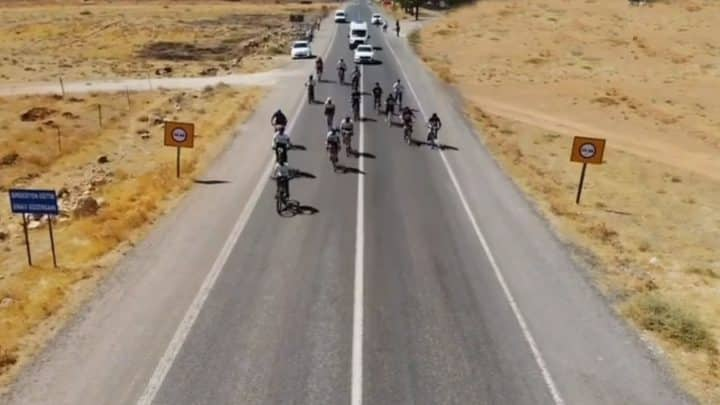 Suruç'ta bisiklet yarışması yapıldı Urfa Haber