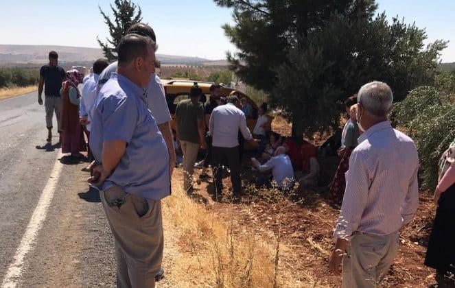 Suruç'ta trafik kazası: 4 Yaralı Urfa Haber