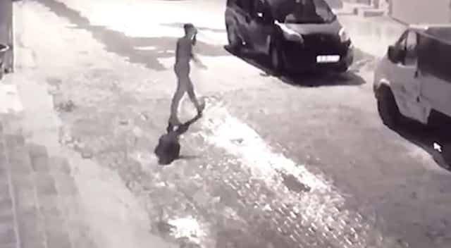Araba camlarını kıran yakalandı Urfa Haber