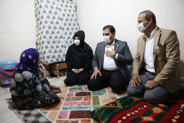 Başkan Canpolat'tan ev ziyaretleri Urfa Haber