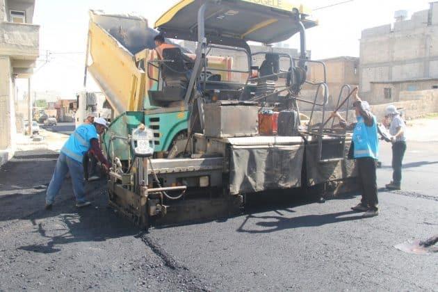 Eyyübiye Belediyesi asfalt çalışmalarına  hız verdi Urfa Haber