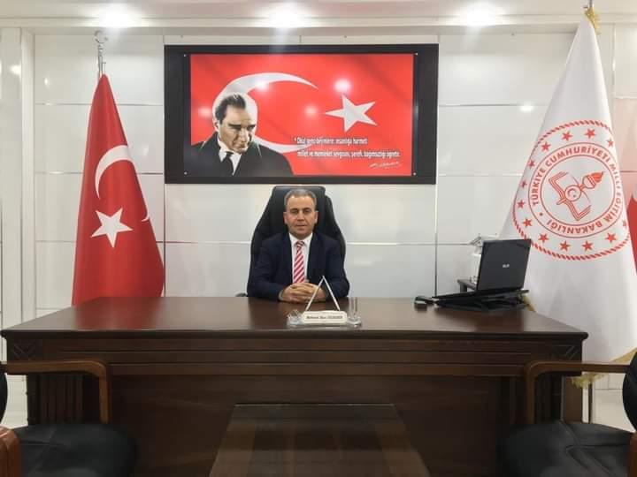 """Suruç Ilçe Milli Egitim Müdürü Özdemir """"den Kandil Mesaji Urfa Haber"""