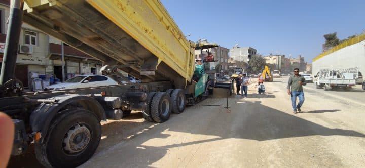 Büyükşehir Belediyesi Yol Yapım Çalışmalarını Sürdürüyor Urfa Haber