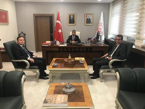 Birecik Kaymakamı  ilcenin sorunları için Ankara'da Urfa Haber