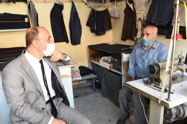 Vali Erin Suruç'u ziyaret etti Urfa Haber