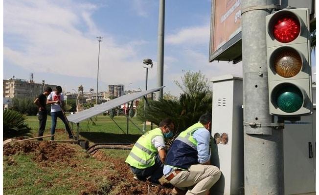 Abide kavşağına kesintisiz güç kaynağı Urfa Haber