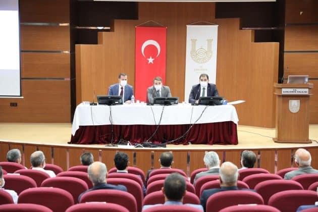 Başkan CANPOLAT muhtarlarla bir araya geldi Urfa Haber