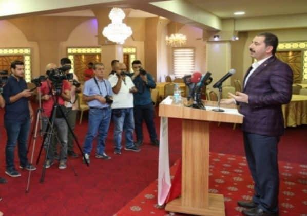 Başkanı Metin Baydilli'den  21 Ekim Dünya Gazeteciler günü mesajı  Urfa Gündemi
