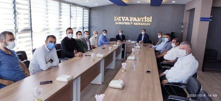 CHP Şanlıurfa Heyetinden DEVA Partisine Ziyaret Urfa Haber