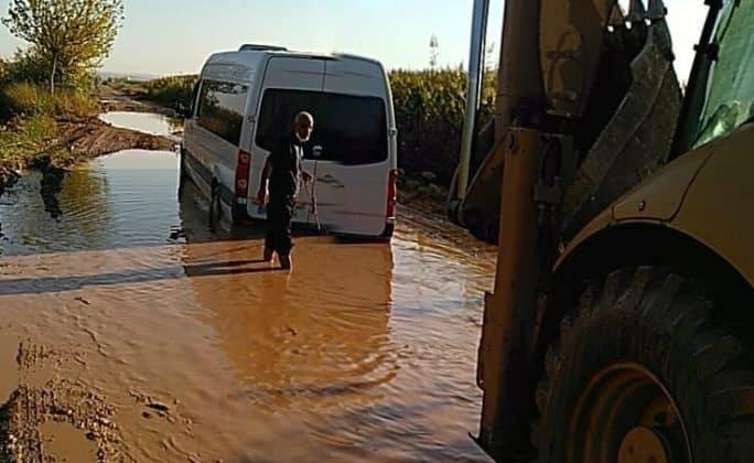 Suruç'ta Bozuk köy yolları taşımalı eğitimi sekteye uğratıyor Urfa Haber