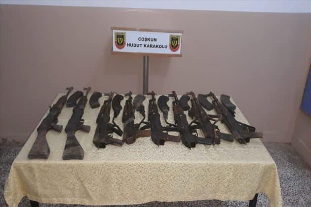 Sınır hattında operasyon; silah ele geçirildi Urfa Haber