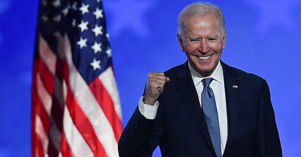 Son dakika; Joe Biden Amerika'nın yeni başkanı oldu Urfa Haber
