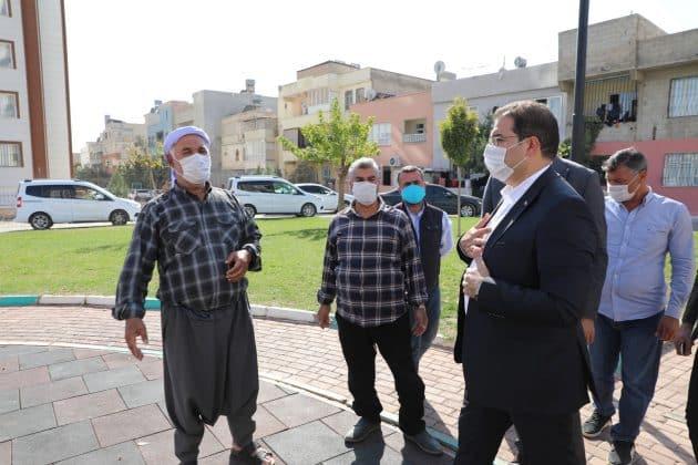 Başkan Canpolat sahada Urfa halkı ile birlikte Urfa Haber