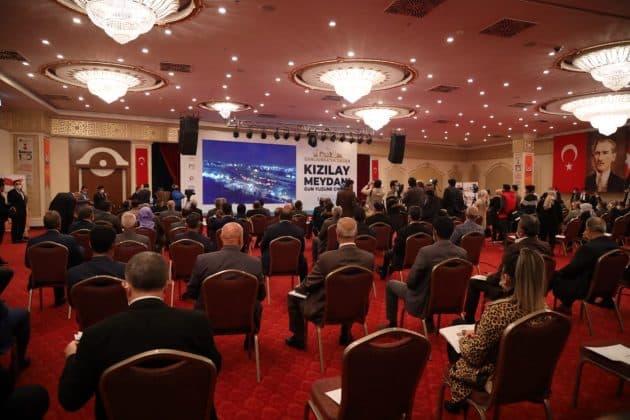 Kızılay meydanının lansmanı yapıldı Urfa Haber