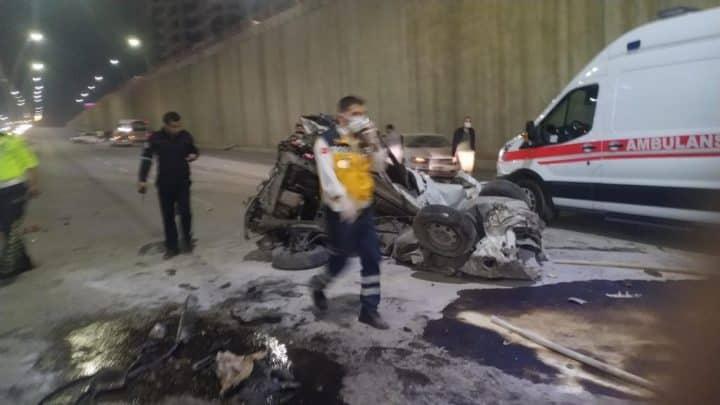 Alt geçite kaza 2si ağır, 5 yaralı Urfa Haber