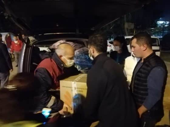 Büyükşehir'in yardım tırları İzmir'e ulaştı Urfa Haber