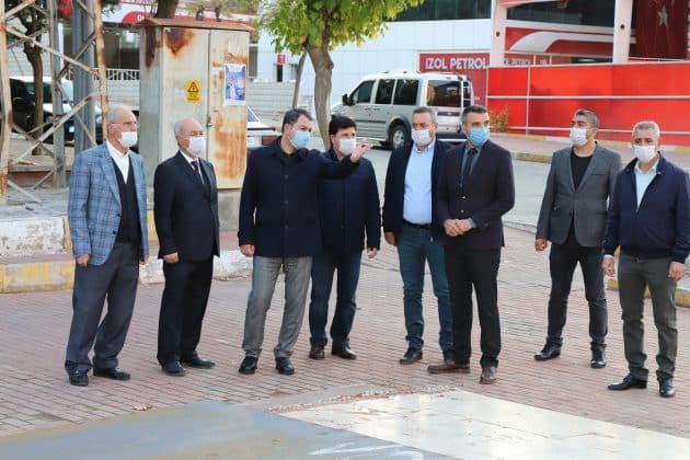 Başkan baydilli mesaiye saha gezisiyle başladı Urfa Haber