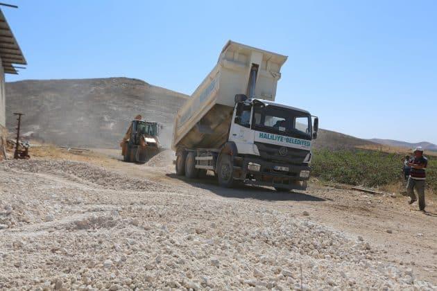 Haliliye belediyesi aralıksız çalışıyor Urfa Haber