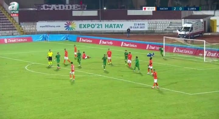 Hatayspor 2-1 Şanlıurfaspor maç sonucu Urfa Haber