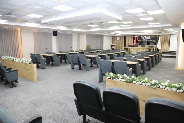 Haliliye'nin yeni meclis salonu bitti Urfa Haber