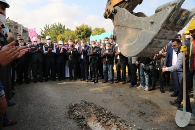 Eyubiyye'de doğalgaz için temel atıldı Urfa Haber