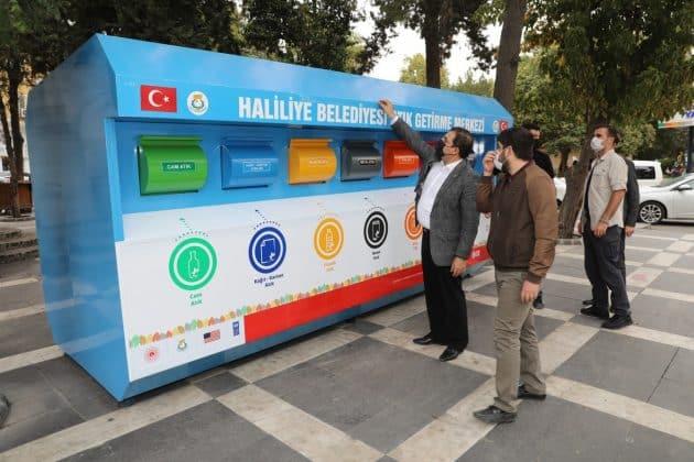 Haliliye'de Sıfır atık projesi hayata geçirildi Urfa Haber