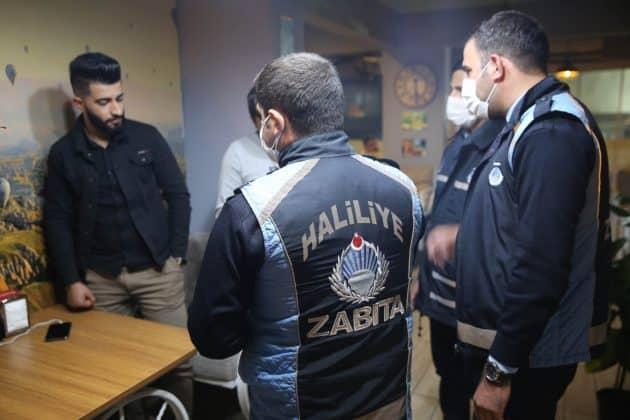 Haliliye'de zabıta pandemi tedbirlerine başladı  Urfa Gündemi