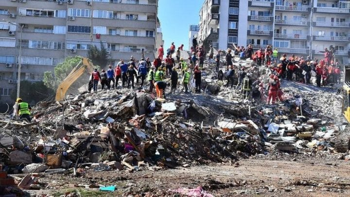 İzmir'de arama kurtarma çalışmaları sona erdi Urfa Haber