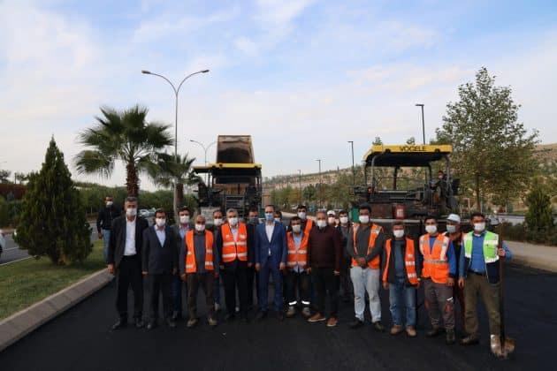 Yıpranmış asfaltlar yenileniyor Urfa Haber