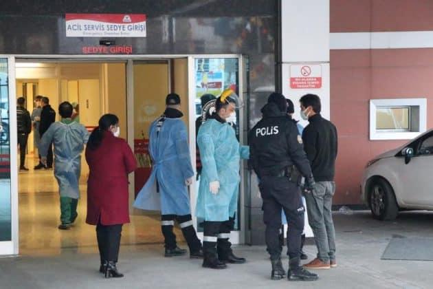 Hastanede patlama, 9 hasta öldü Urfa Haber