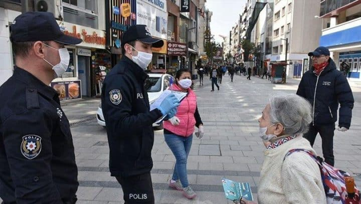 "MASKE TAKMA KARARI ; ""POLİS TUTANAK TUTAR CEZA YAZAMAZ"" Urfa Haber"