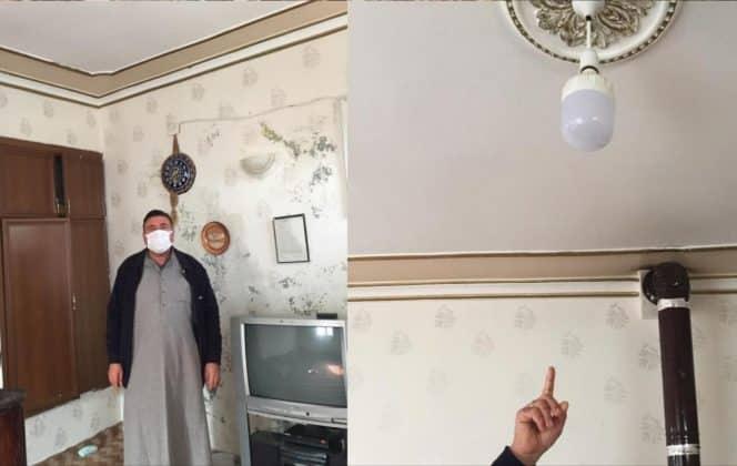 Yasak günü elektriksiz kaldılar Urfa Haber