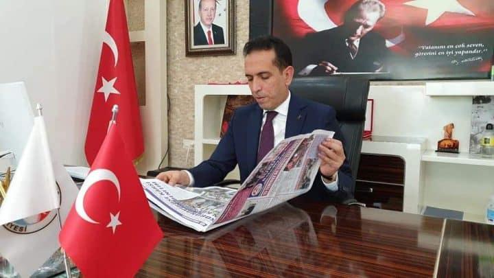 Suruç Kaymakamı ve Belediye Başkan V. Kenan Aktaş'tan yeni yıl mesajı Urfa Haber