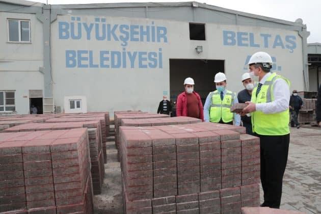 Büyükşehirden Büz boru üretimine hazırlık Urfa Haber